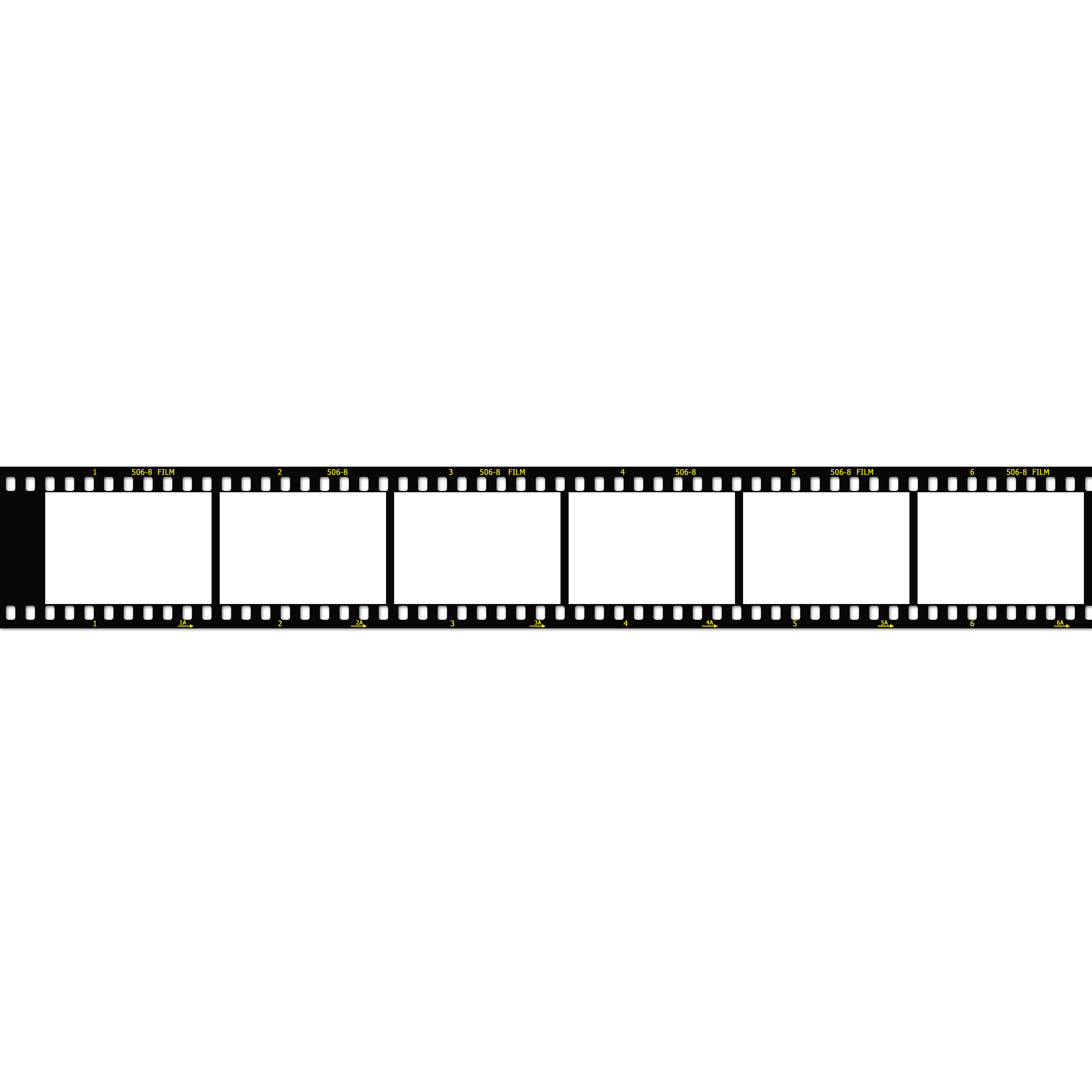 Film strip image template 2560px wide the barefoot for Film strip picture template